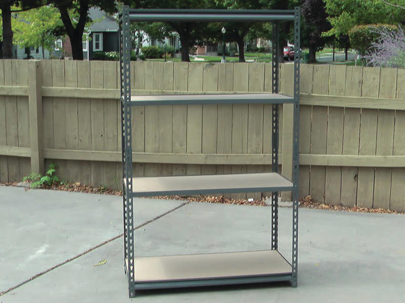 Heavy Duty Slotted Angle Racks Manufacturer