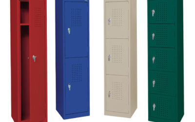 PEACE OF MIND WITH SAFE AND SECURE LOCKERS!