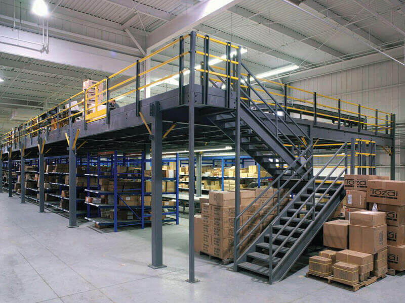 Manufacturer & Supplier of Mezzanine Storage Rack- Space Planners India