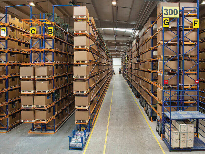 Bulk Storage Racks are manufacturer with superior quality raw material .